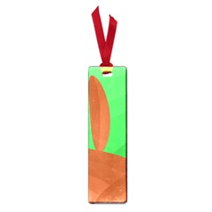 Green and orange landscape Small Book Marks