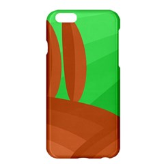 Green and orange landscape Apple iPhone 6 Plus/6S Plus Hardshell Case
