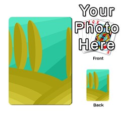 Green and yellow landscape Multi-purpose Cards (Rectangle)