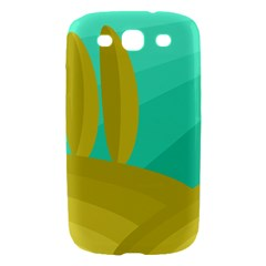 Green and yellow landscape Samsung Galaxy S III Hardshell Case