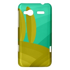 Green and yellow landscape HTC Radar Hardshell Case