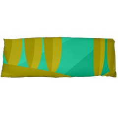 Green and yellow landscape Body Pillow Case Dakimakura (Two Sides)