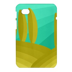 Green and yellow landscape Samsung Galaxy Tab 7  P1000 Hardshell Case