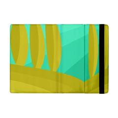 Green and yellow landscape Apple iPad Mini Flip Case