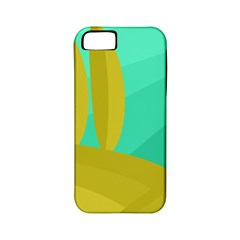 Green and yellow landscape Apple iPhone 5 Classic Hardshell Case (PC+Silicone)