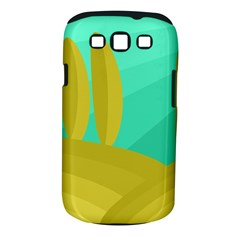 Green and yellow landscape Samsung Galaxy S III Classic Hardshell Case (PC+Silicone)
