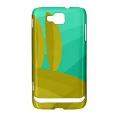 Green and yellow landscape Samsung Ativ S i8750 Hardshell Case