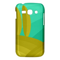 Green and yellow landscape Samsung Galaxy Ace 3 S7272 Hardshell Case