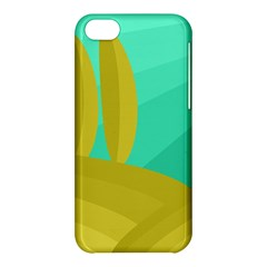 Green and yellow landscape Apple iPhone 5C Hardshell Case