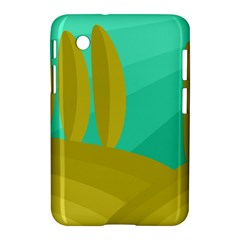 Green and yellow landscape Samsung Galaxy Tab 2 (7 ) P3100 Hardshell Case