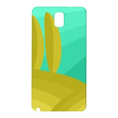 Green and yellow landscape Samsung Galaxy Note 3 N9005 Hardshell Back Case