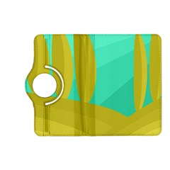 Green and yellow landscape Kindle Fire HD (2013) Flip 360 Case
