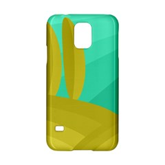 Green and yellow landscape Samsung Galaxy S5 Hardshell Case