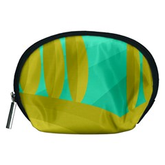 Green and yellow landscape Accessory Pouches (Medium)