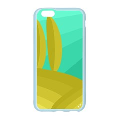 Green and yellow landscape Apple Seamless iPhone 6/6S Case (Color)