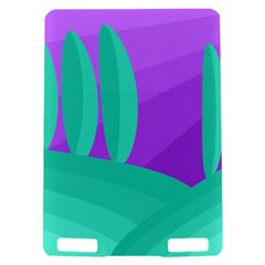 Purple and green landscape Kindle Touch 3G