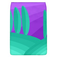 Purple and green landscape Flap Covers (L)