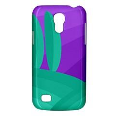 Purple and green landscape Galaxy S4 Mini