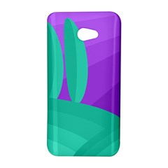 Purple and green landscape HTC Butterfly S/HTC 9060 Hardshell Case
