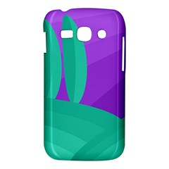 Purple and green landscape Samsung Galaxy Ace 3 S7272 Hardshell Case