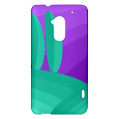 Purple and green landscape HTC One Max (T6) Hardshell Case