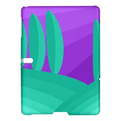 Purple and green landscape Samsung Galaxy Tab S (10.5 ) Hardshell Case