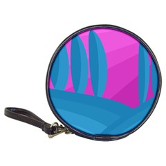 Pink and blue landscape Classic 20-CD Wallets