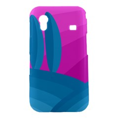 Pink and blue landscape Samsung Galaxy Ace S5830 Hardshell Case