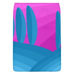 Pink and blue landscape Flap Covers (S)