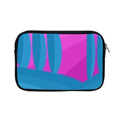Pink and blue landscape Apple iPad Mini Zipper Cases