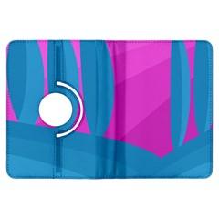 Pink and blue landscape Kindle Fire HDX Flip 360 Case