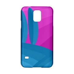 Pink and blue landscape Samsung Galaxy S5 Hardshell Case