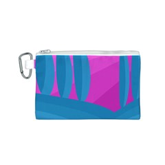 Pink and blue landscape Canvas Cosmetic Bag (S)