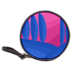 Magenta and blue landscape Classic 20-CD Wallets