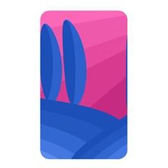 Magenta and blue landscape Memory Card Reader