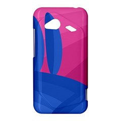 Magenta and blue landscape HTC Droid Incredible 4G LTE Hardshell Case