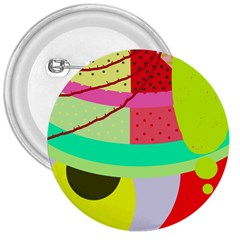 Colorful abstraction by Moma 3  Buttons