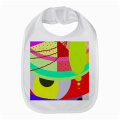 Colorful abstraction by Moma Bib