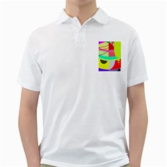 Colorful abstraction by Moma Golf Shirts