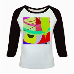 Colorful abstraction by Moma Kids Baseball Jerseys