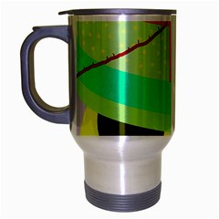 Colorful abstraction by Moma Travel Mug (Silver Gray)