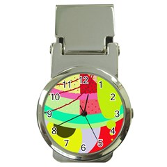 Colorful abstraction by Moma Money Clip Watches