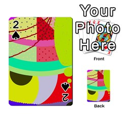 Colorful abstraction by Moma Playing Cards 54 Designs