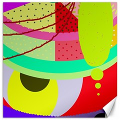 Colorful abstraction by Moma Canvas 20  x 20