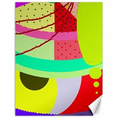 Colorful abstraction by Moma Canvas 18  x 24