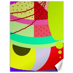 Colorful abstraction by Moma Canvas 36  x 48