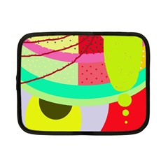 Colorful abstraction by Moma Netbook Case (Small)