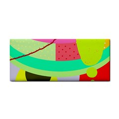 Colorful abstraction by Moma Hand Towel