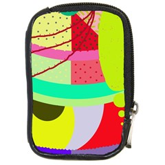 Colorful abstraction by Moma Compact Camera Cases