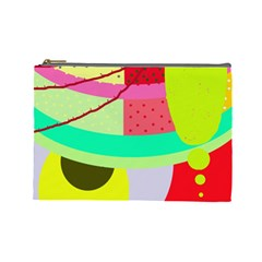 Colorful abstraction by Moma Cosmetic Bag (Large)